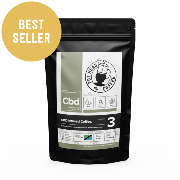 CBD Coffee - UK Best Seller